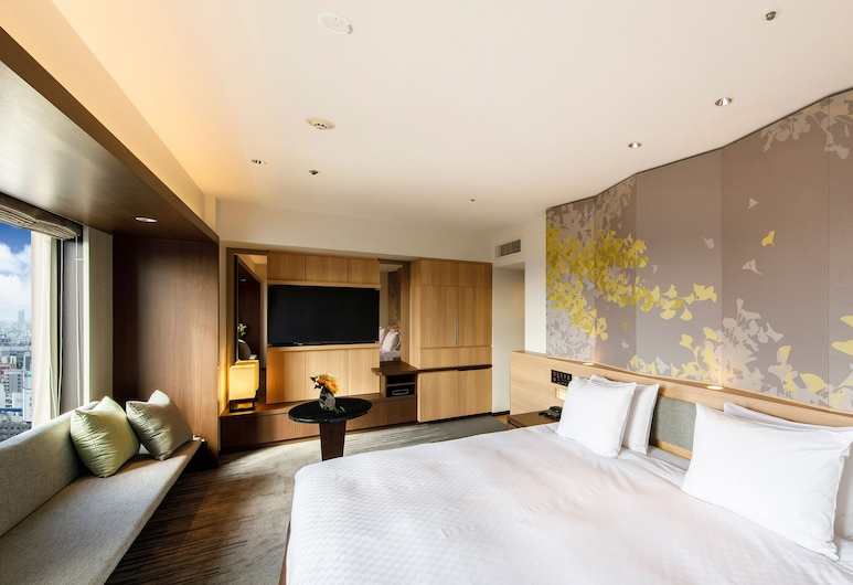 Hotel Nikko Osaka, אוסקה, חדר פרימיום זוגי, ללא עישון (Nikko Premium Double), חדר אורחים