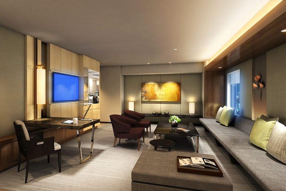 Nikko Executive Suite, Non-Smoking  - Living Area