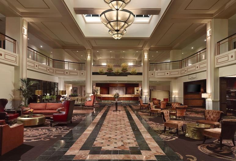 Omni Severin Hotel, Indianápolis, Vestíbulo