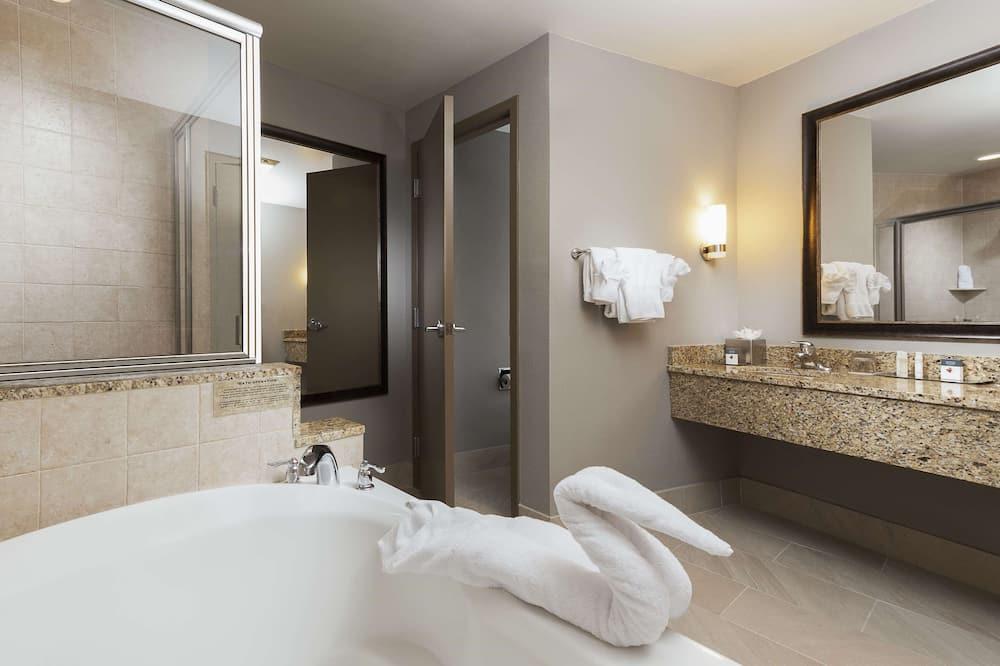 行政套房, 1 張特大雙人床 - 浴室