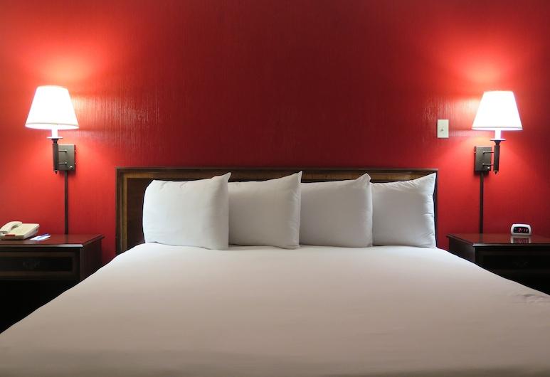 Bonanza Inn & Suites, Yuba City, Standard Room, 1 King Bed, Non Smoking, Guest Room