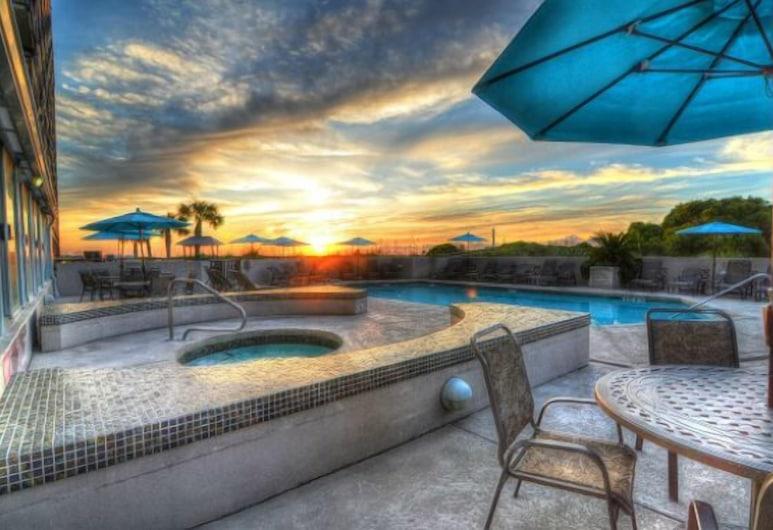 Shell Island Resort - All Oceanfront Suites, Wrightsville Beach, Außen-Whirlpool