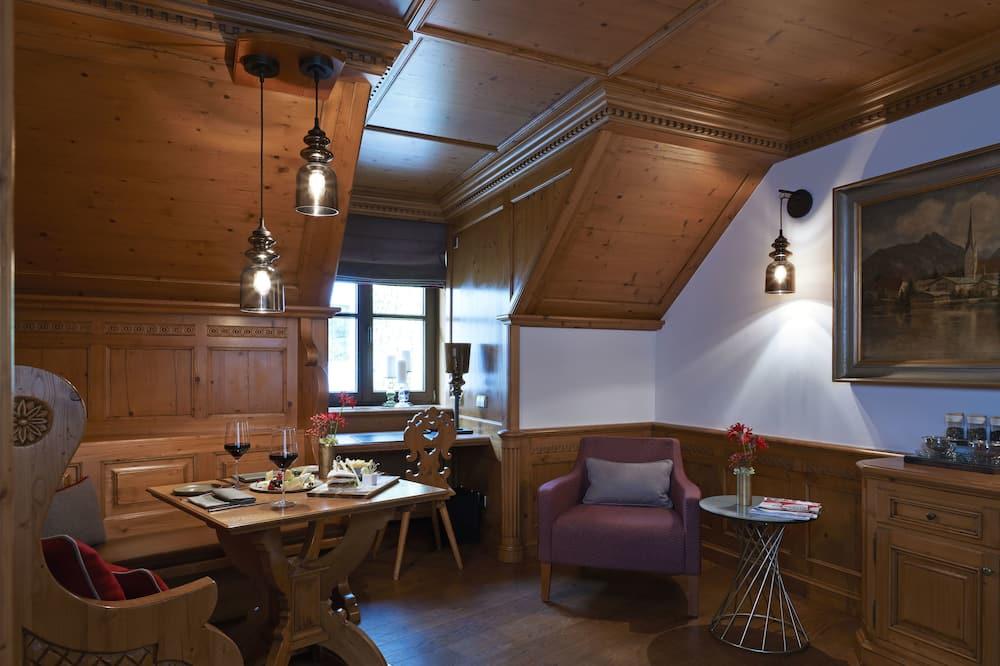Люкс (Bavarian) - Зона гостиной