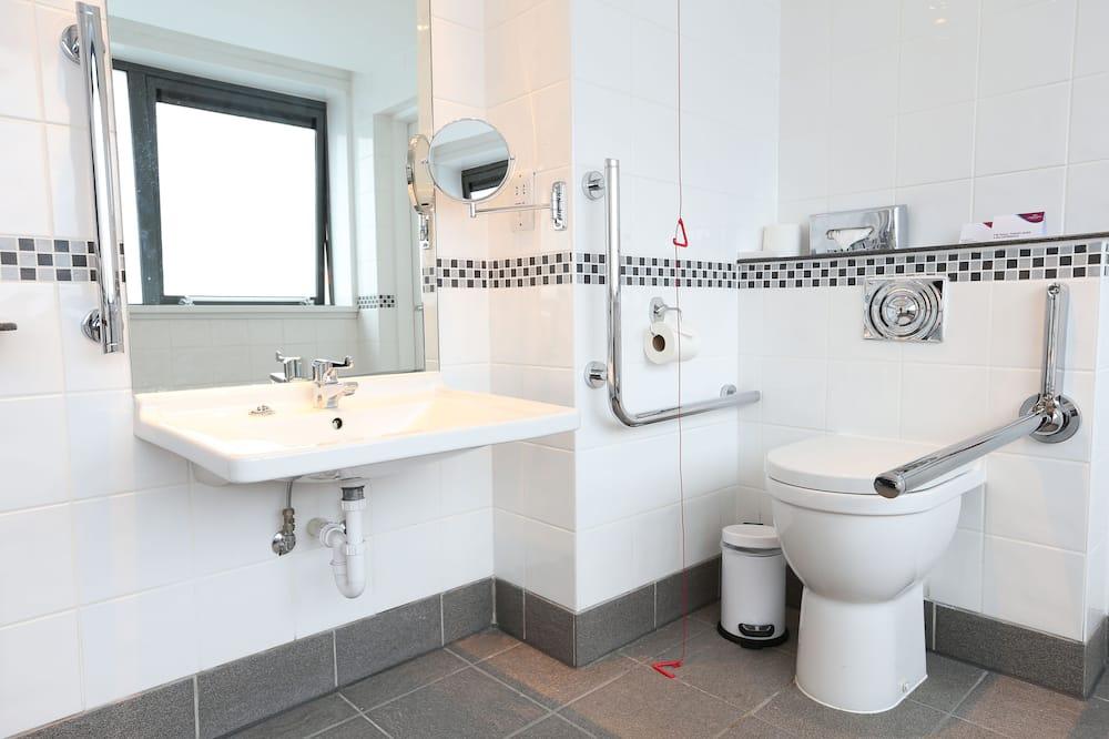 Zimmer, 1 Doppelbett, barrierefrei, Nichtraucher (Wheelchair) - Badezimmer