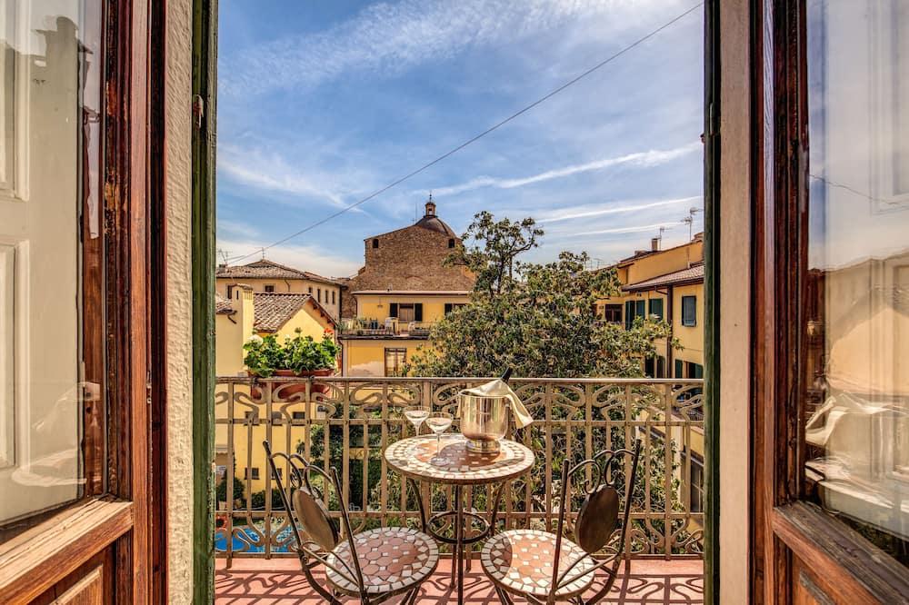 Kamar Double atau Twin, pemandangan kebun - Balkon