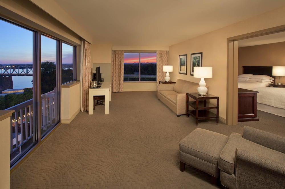 Suite Club, 2 camas dobles, para no fumadores, vista al río - Habitación