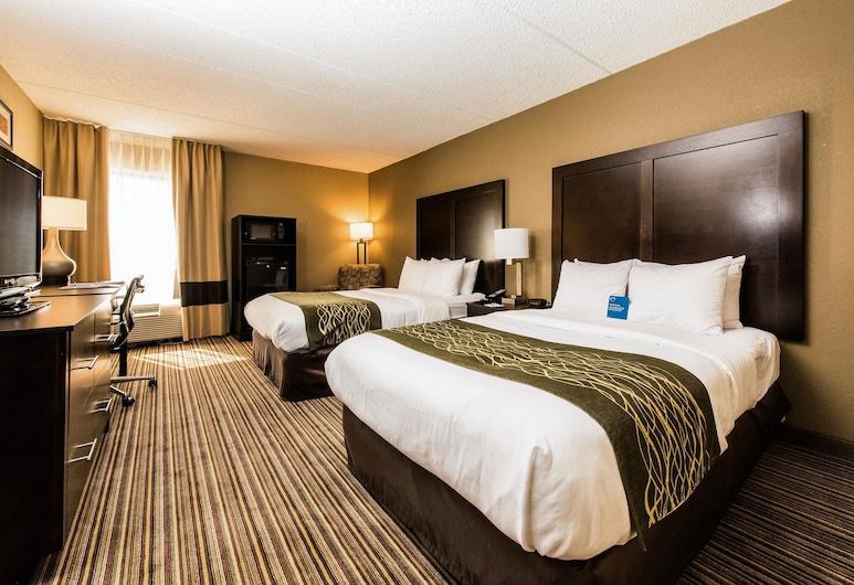 Comfort Inn Lehigh Valley West - Allentown, Allentown, Standardna dvokrevetna soba, 2 bračna kreveta, za nepušače, Soba za goste