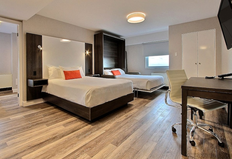 Hotel Classique, Quebec, Pusluksusa numurs, Viesu numurs