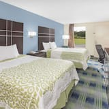Double Room, 2 Double Beds, Smoking - Guest Room