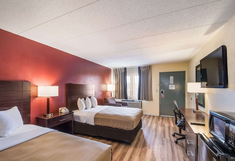 Econo Lodge Kearney - Liberty, Kearney, Room, 2 Double Beds, Accessible, Non Smoking, Guest Room