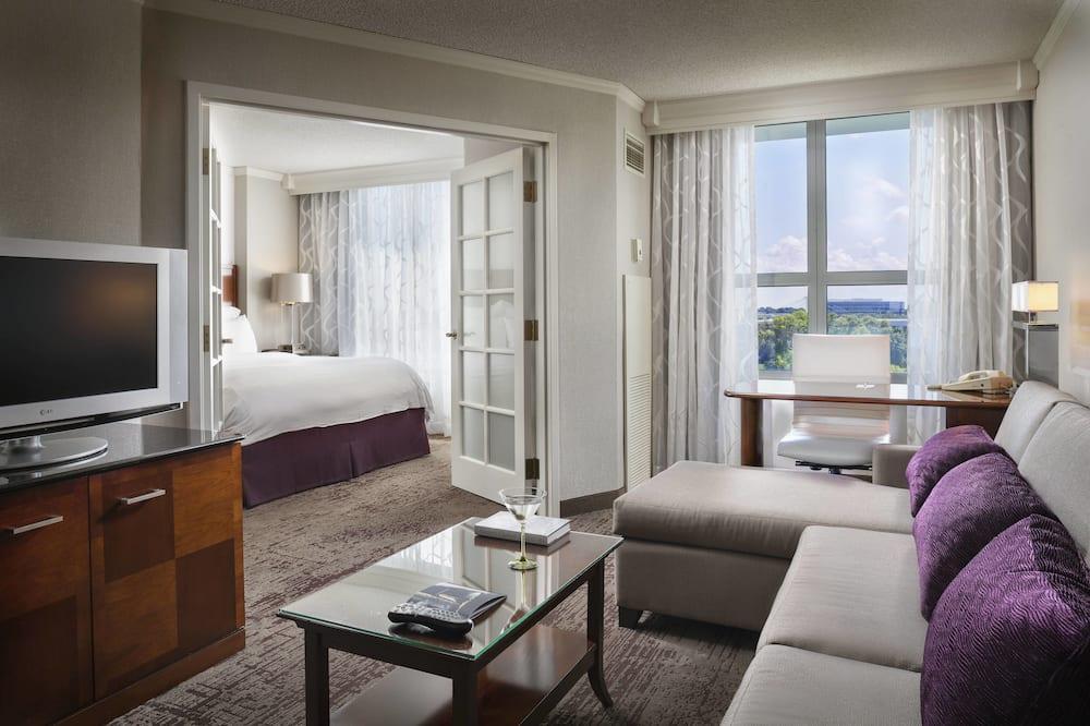Suite, 1 Bedroom, Non Smoking - Bilik Tamu