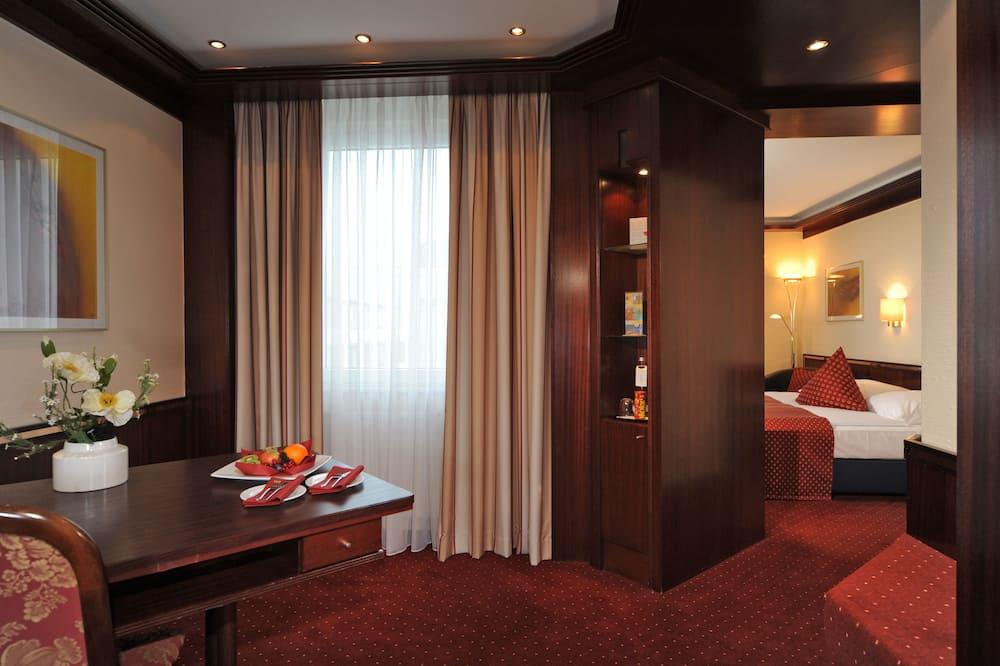 豪華客房, 1 張標準雙人床 - 客廳