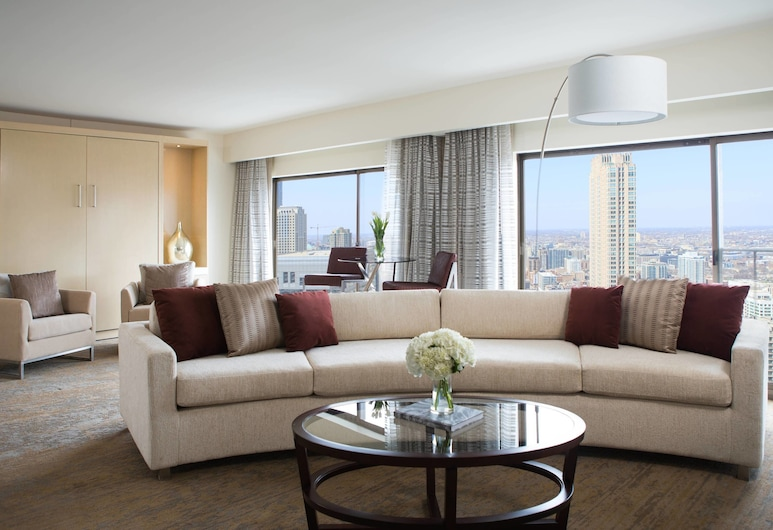 Chicago Marriott Downtown Magnificent Mile, Чикаго, Номер