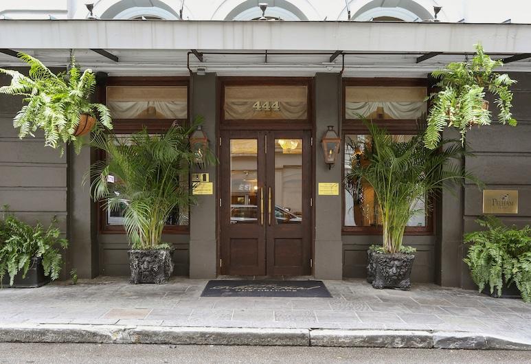 더 펠햄 호텔, 뉴올리언스, 호텔 입구
