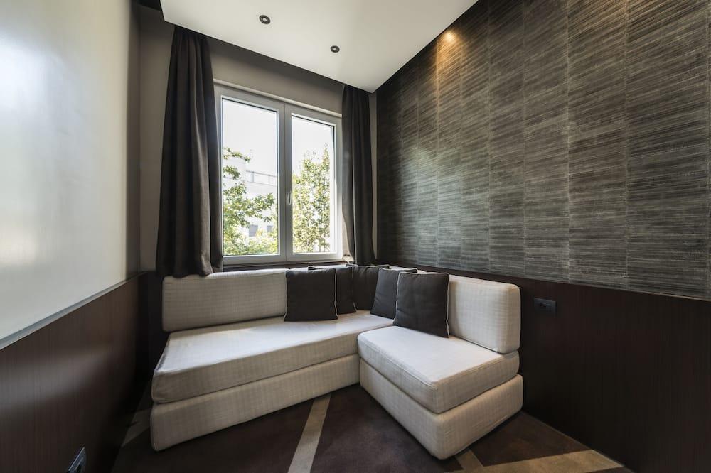 Suite junior, 1 cama King size con sofá cama - Sala de estar