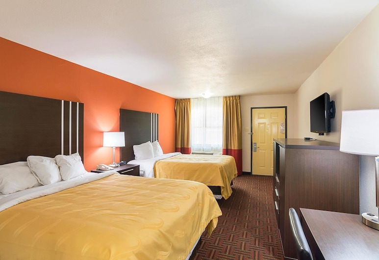 Quality Inn, Amarillo, Standard Room, 2 Double Beds, Non Smoking, Guest Room