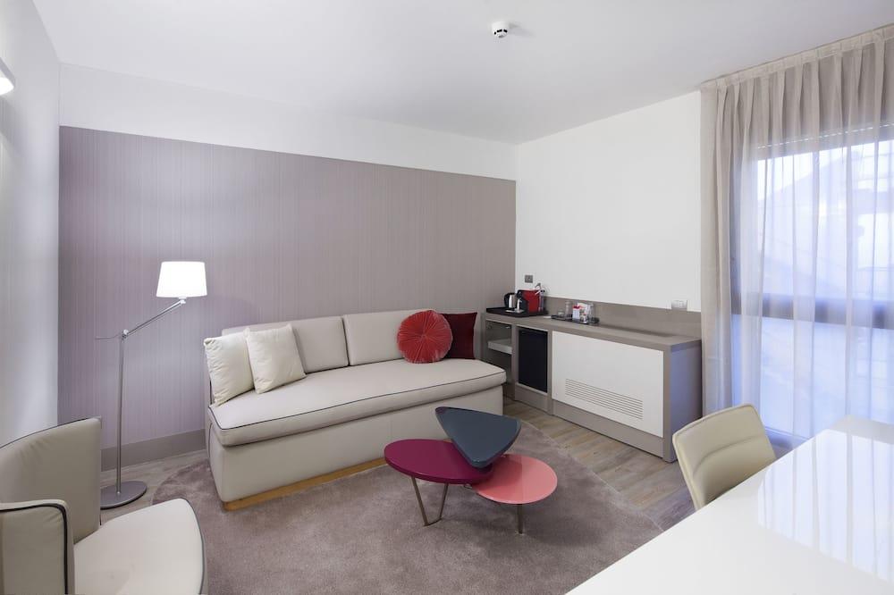 Habitación doble junior de uso individual - Sala de estar