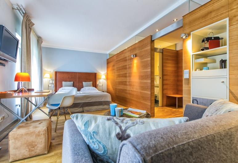 Hotel & Villa Auersperg, Salzburg, Superior-Doppelzimmer (Garden), Zimmer