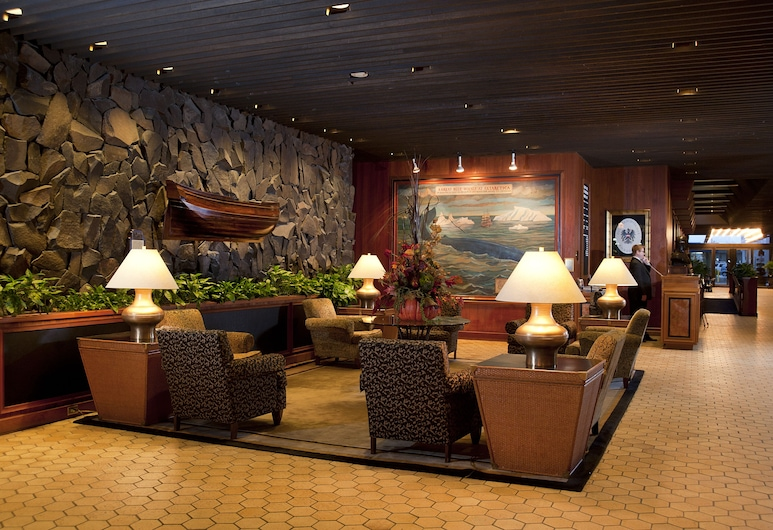 Hotel Captain Cook, Anchorage, Lobby Sitting Area