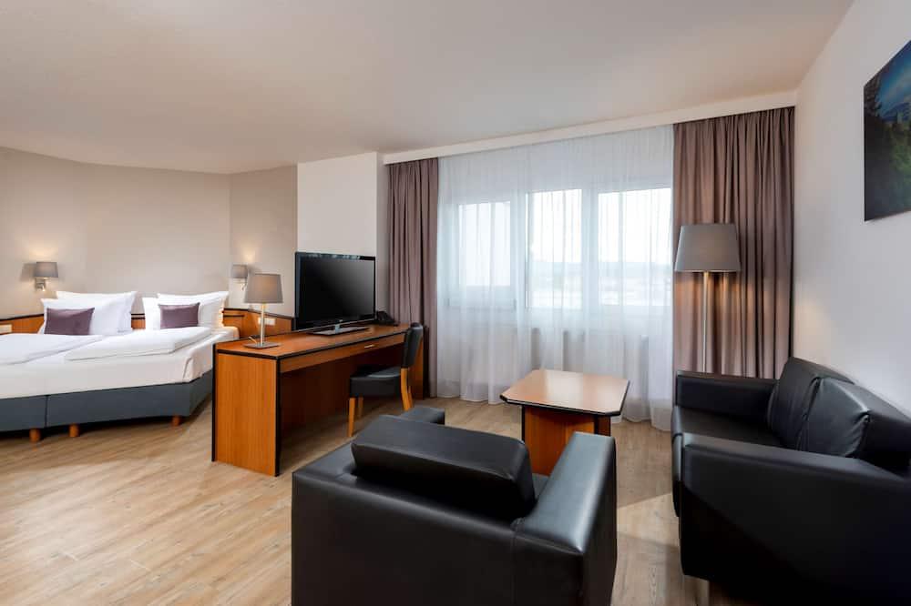Suite, 1 très grand lit, en angle - Chambre