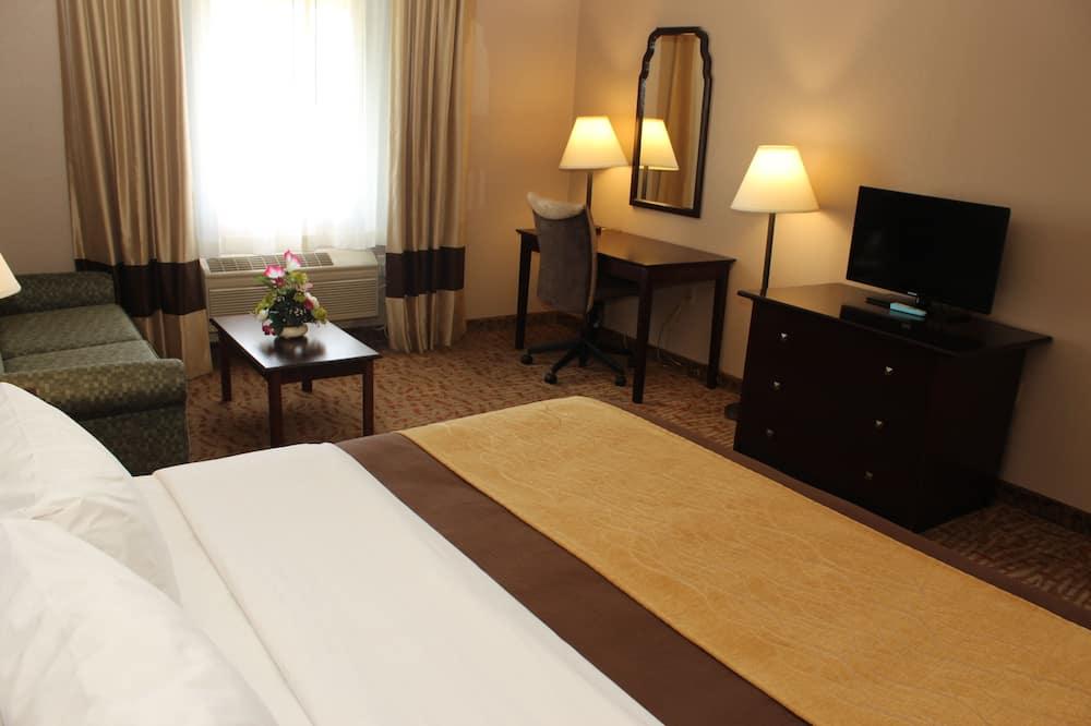 Standard Oda, 1 En Büyük (King) Boy Yatak ve Çekyat, Jakuzi - Mikrodalga