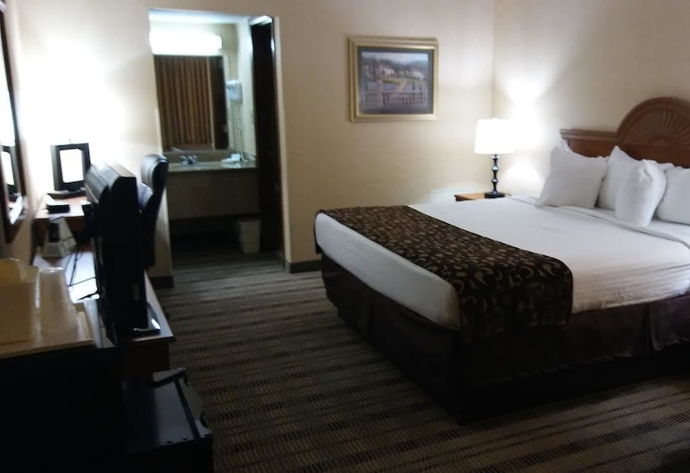 Baymont by Wyndham Lynchburg, Lynchburg, Phòng Tiêu chuẩn, 1 giường cỡ king, Không hút thuốc, Tủ lạnh, Phòng