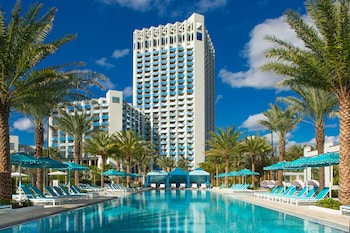 Odaberite ovaj hotel sa sobama pristupačnim za osobe s invalidnošću u Lake Buena Vista