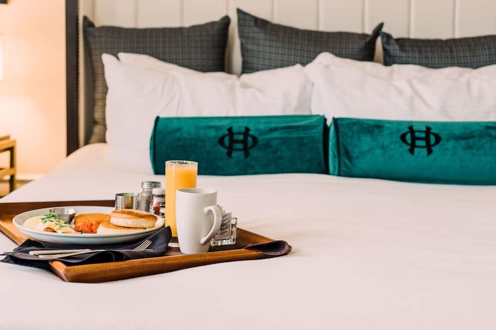 普通套房, 1 張特大雙人床 - 客房餐飲服務