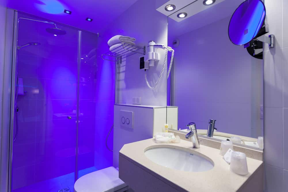 Comfort-Zimmer, 1 Queen-Bett, Nichtraucher - Badezimmer
