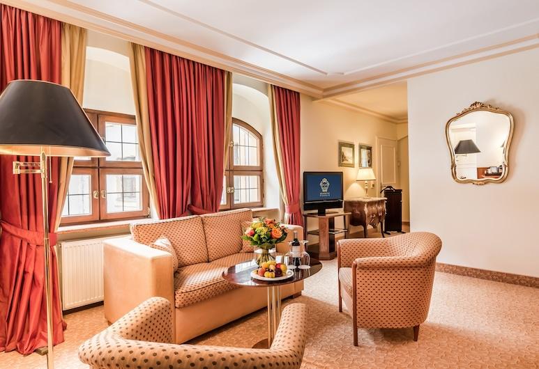 Romantik Hotel Bülow Residenz, Dresden, Junior Suite, Living Area