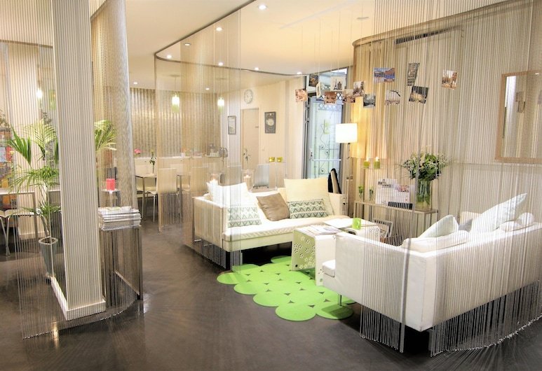 Hotel Glasgow Monceau Paris by Patrick Hayat, Paris, Salon du hall