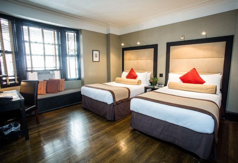 The Mansfield Hotel, Nova York, Quarto casal, 2 camas de casal, Quarto
