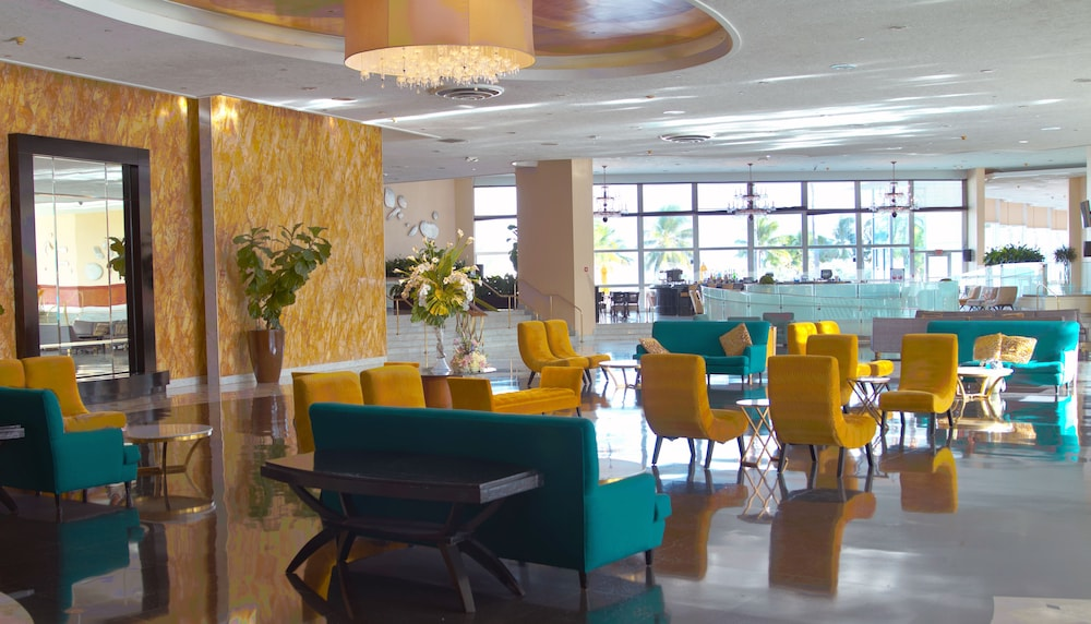 The Deauville Beach Resort Miami Interior Entrance