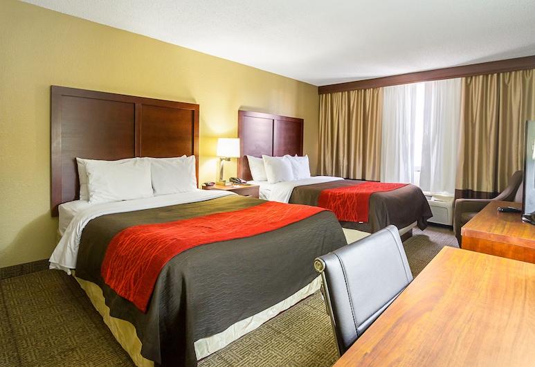 Comfort Inn Downtown, Cleveland, Habitación estándar, 2 camas matrimoniales, de no fumar, Habitación