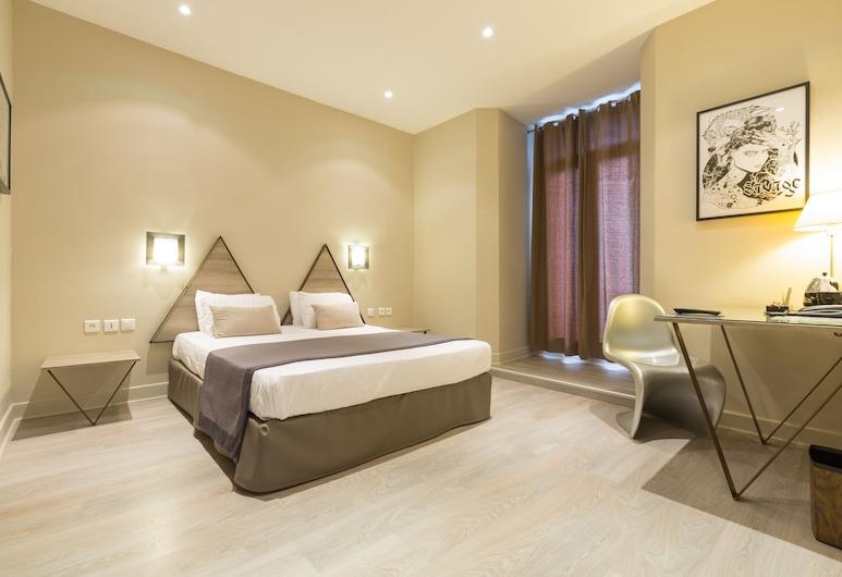 Hotel Amirauté, Тулон, Стандартний двомісний номер, 1 двоспальне ліжко, Номер