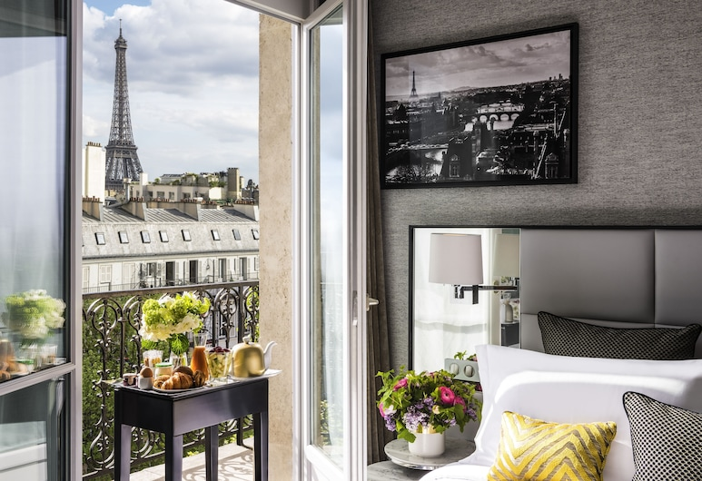 Sofitel Paris Baltimore Tour Eiffel Hotel, Parijs, Signature suite, 1 kingsize bed, uitzicht, in toren (Eiffel Tower View), Kamer