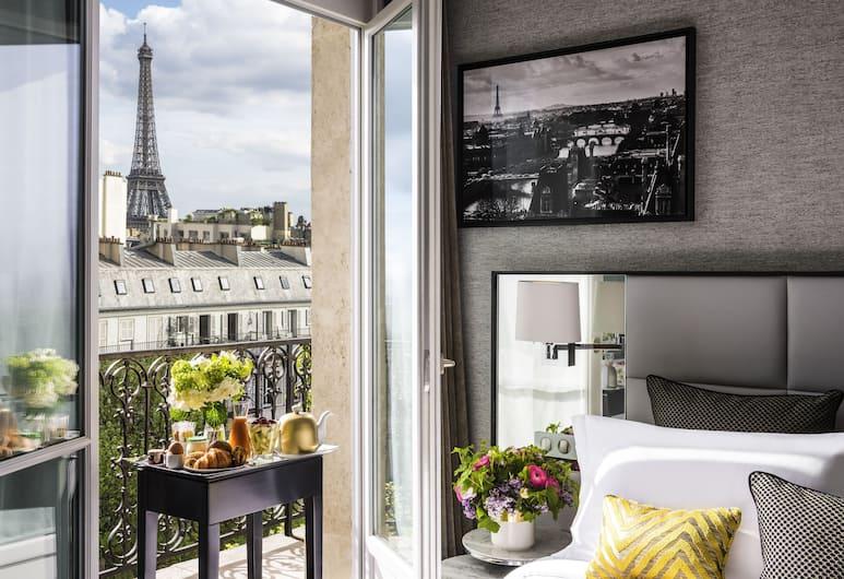 Sofitel Paris Baltimore Tour Eiffel Hotel, Париж, Дизайнерский люкс, вид, башня (Eiffel Tower View), Номер