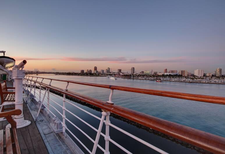 The Queen Mary, Long Beach, Vista desde el hotel
