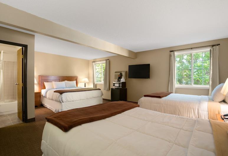 Days Inn by Wyndham Pierre, פייר, סוויטת סטודיו דה-לוקס, מיטת קינג, ללא עישון, חדר אורחים