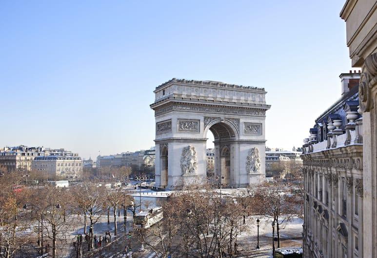 Splendid Etoile Hotel, Paris, View from Hotel