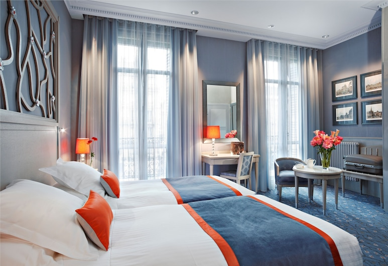 伊特萊爾輝煌酒店, 巴黎, 高級雙人房, 露台, 客房