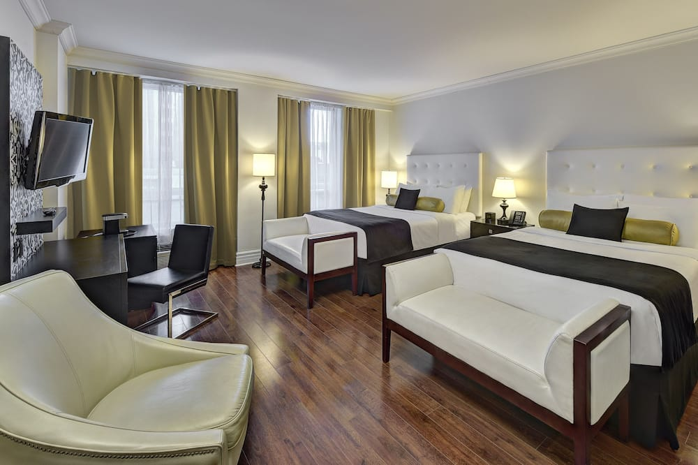 Habitación Deluxe, 2 camas Queen size - Sala de estar