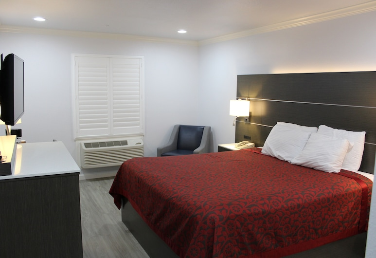 Mirage Inn and Suites, San Francisco, Standard Room, 1 King Bed, Guest Room