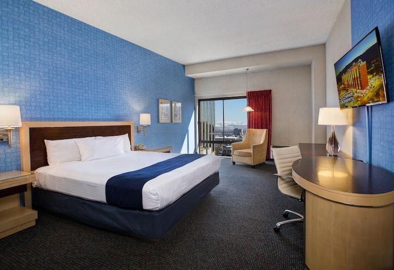 Sands Regency Casino Hotel, Reno, Quarto Deluxe, 1 cama king-size, Vista para a Cidade