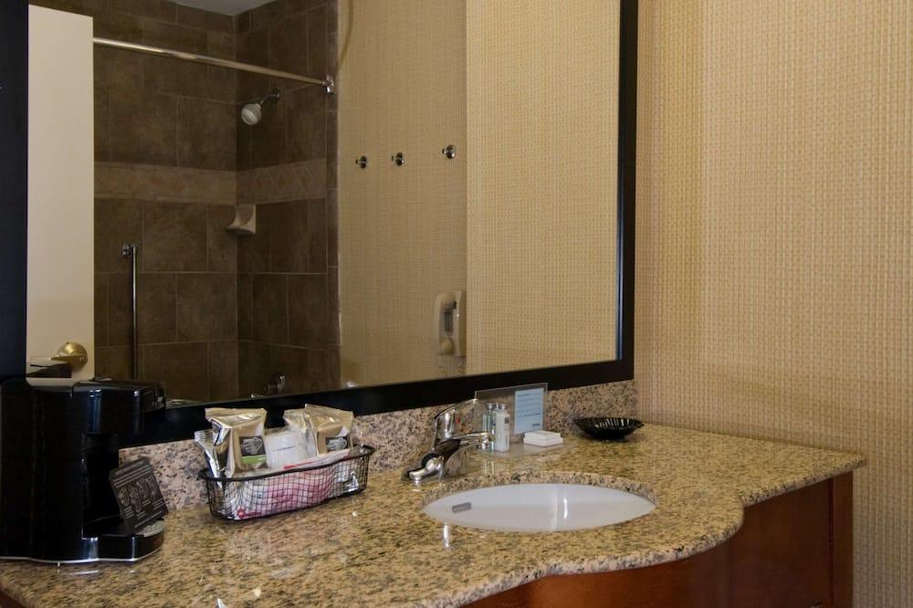 客房, 1 張特大雙人床, 無障礙, 非吸煙房 - 浴室