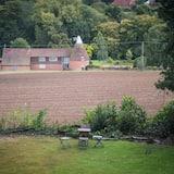 Luxury-Zweibettzimmer - Blick auf den Garten