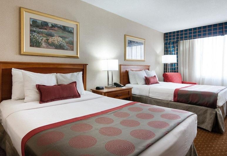 Rodeway Inn, Indianapolis, Standardzimmer, 2Doppelbetten, Nichtraucher, Zimmer