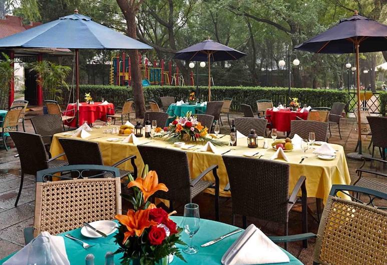 北京國都大飯店, 北京市, 室外用餐