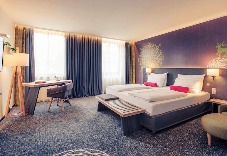 Mercure Muenchen City Center, München, Privilege, Kahden hengen huone, 1 parisänky ja vuodesohva, Vierashuone