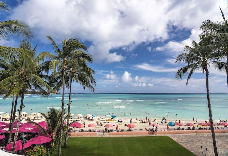 The Royal Hawaiian, a Luxury Collection Resort, Waikiki, Honolulu, Sviitti, Merenrantanäköala, Vierashuone